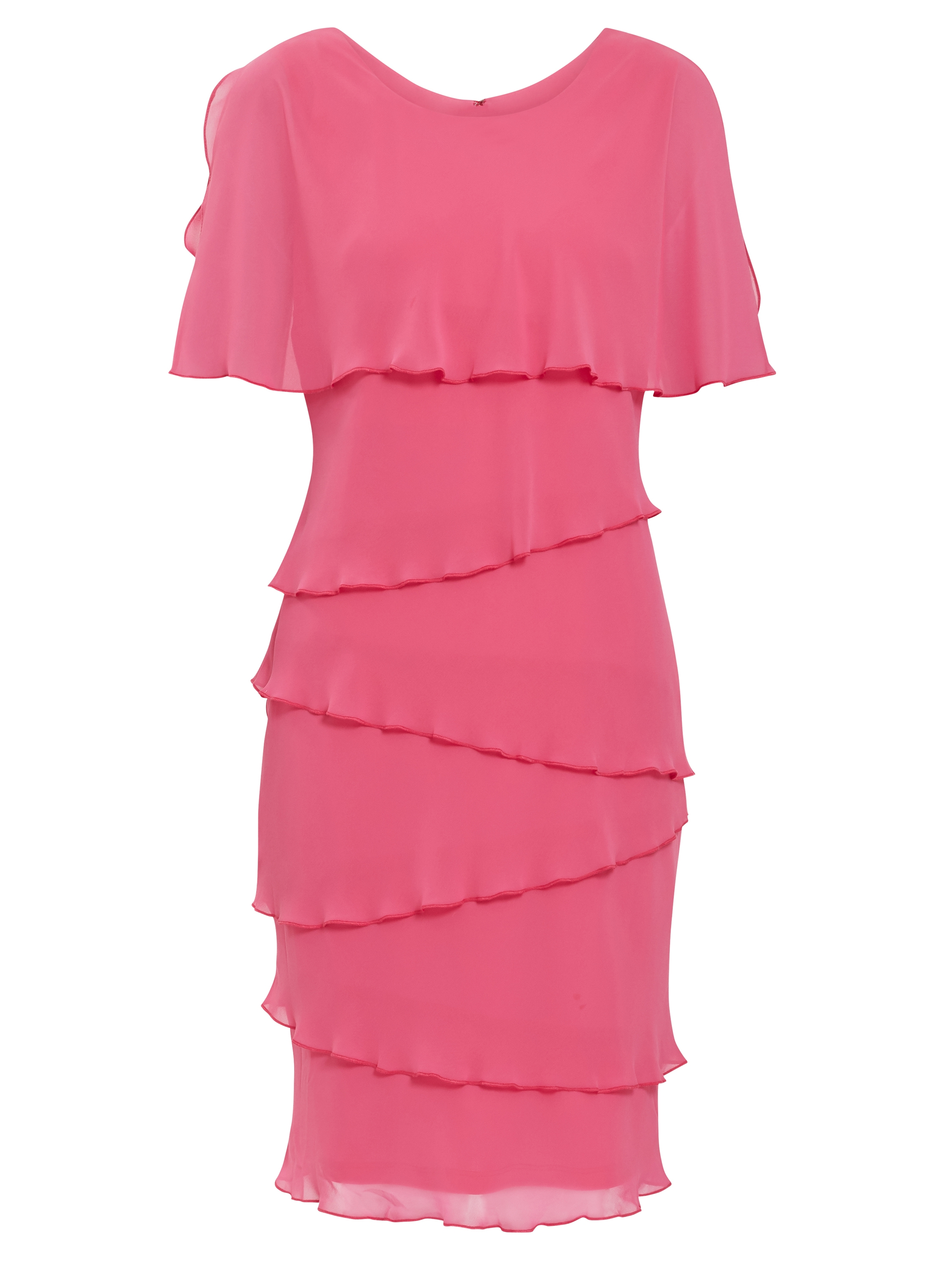 Leonora Tiered Chiffon Dress