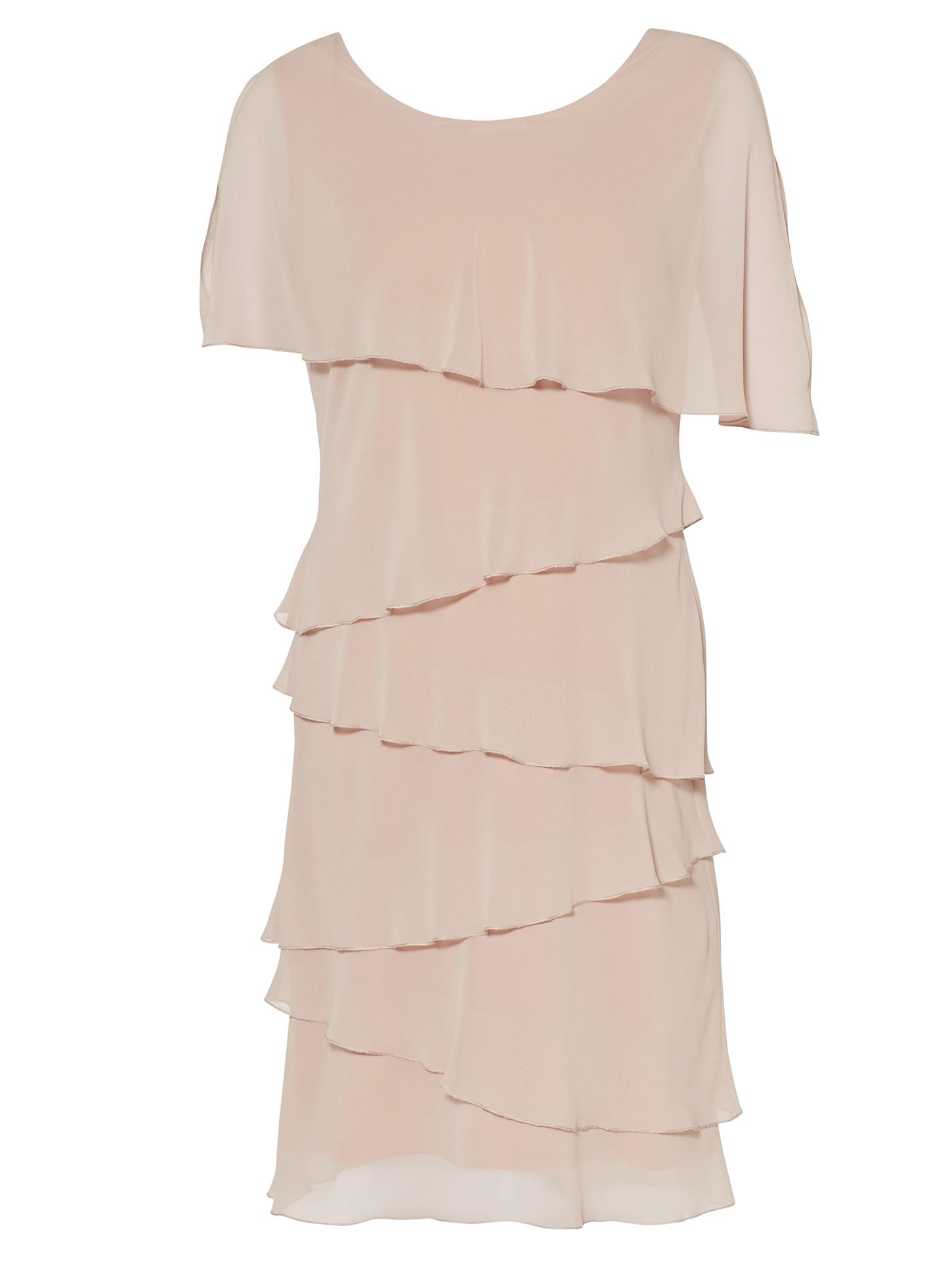 Leonora Tiered Chiffon Dress