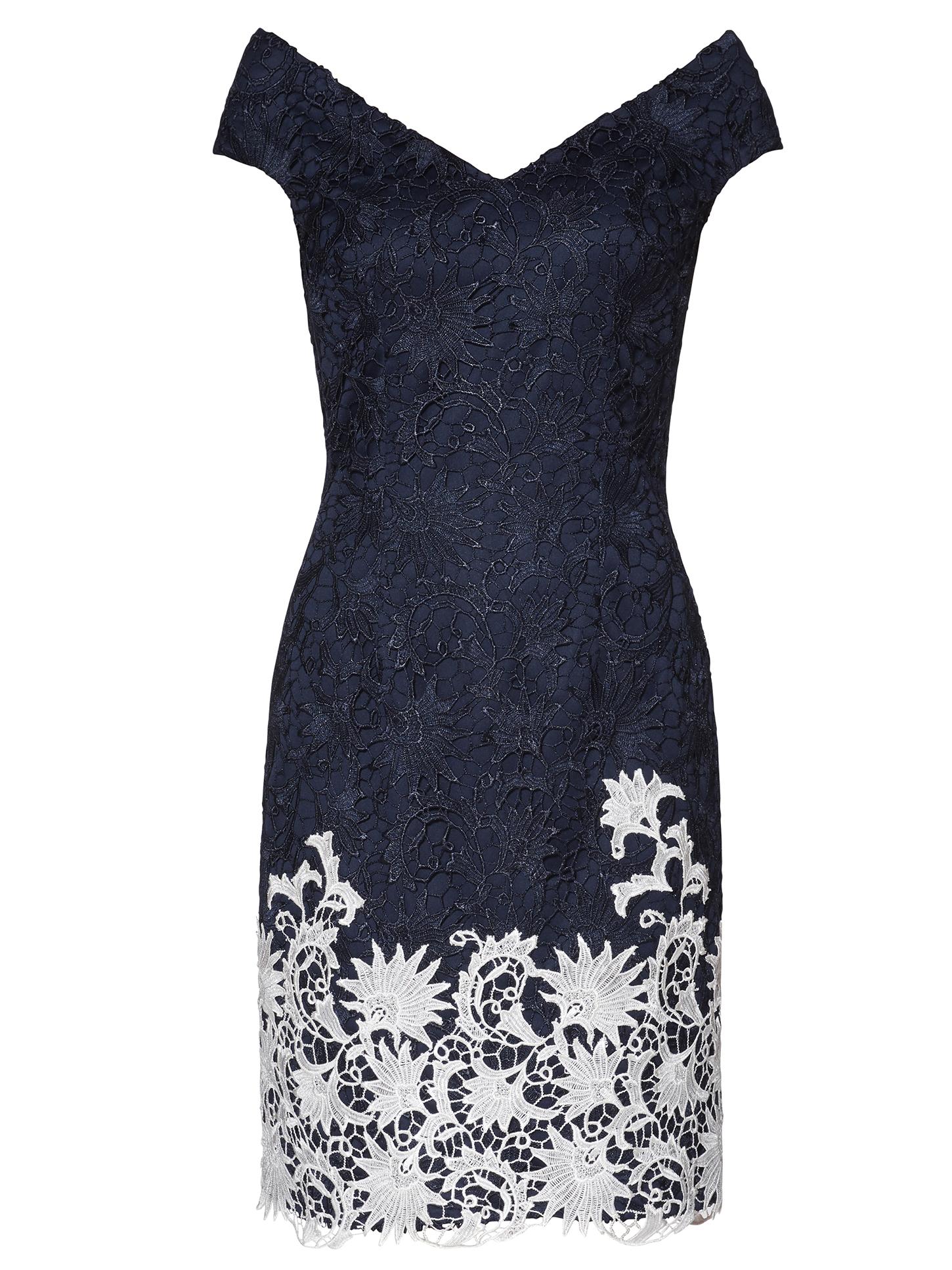Anthea Contrast Lace Dress