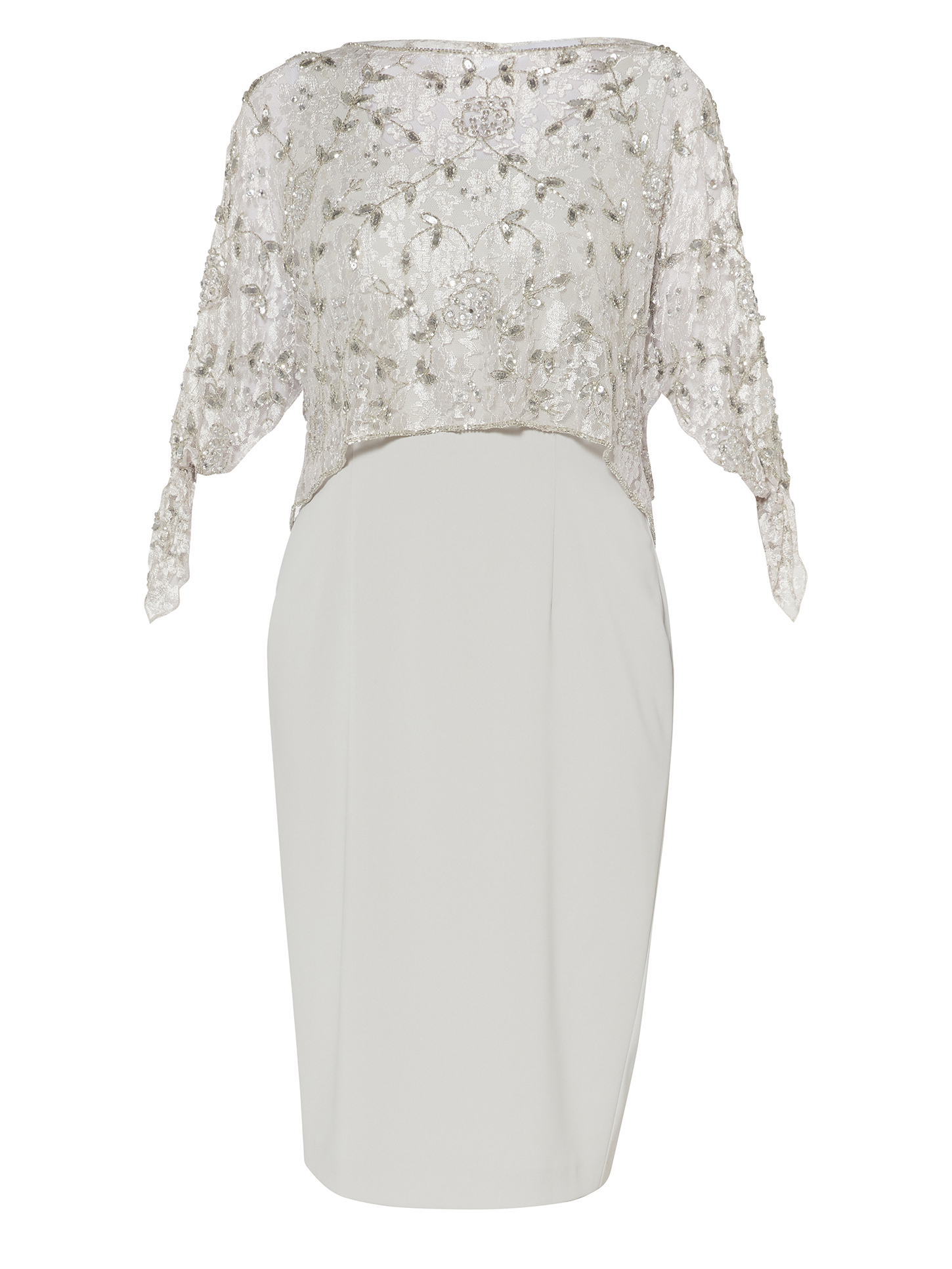 Pearle Dress And Lace Overtop