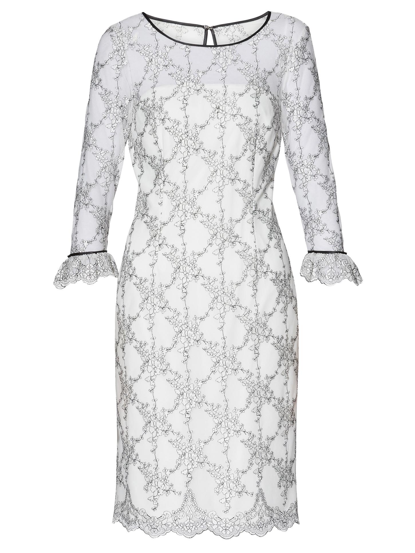 Misty Embroidery Dress