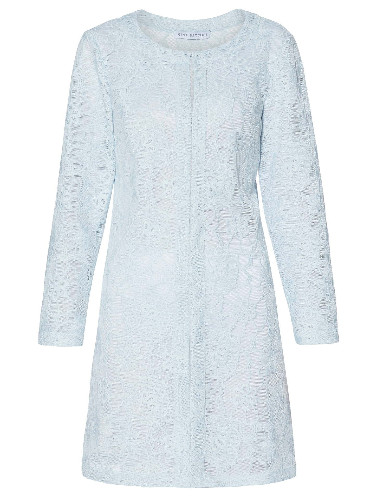 Lynne Mesh Embroidered Coat