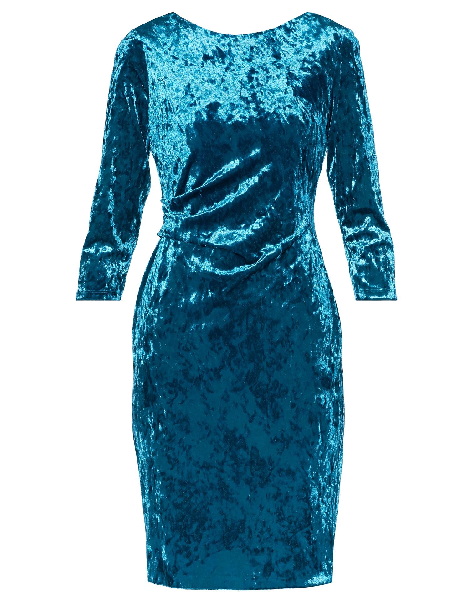 Bellatrix Crushed Velvet Dress