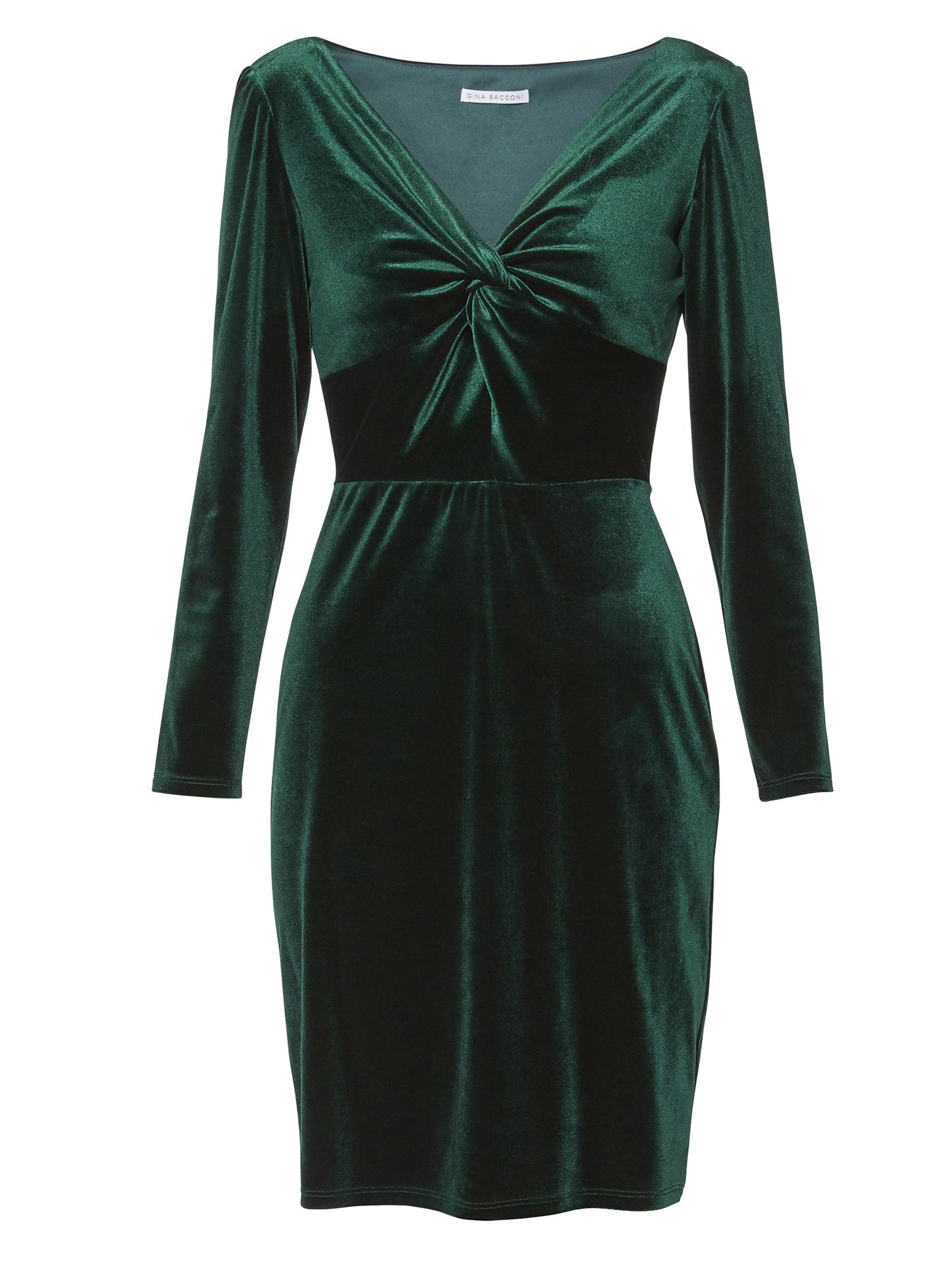 Spencer Velvet Knot Dress