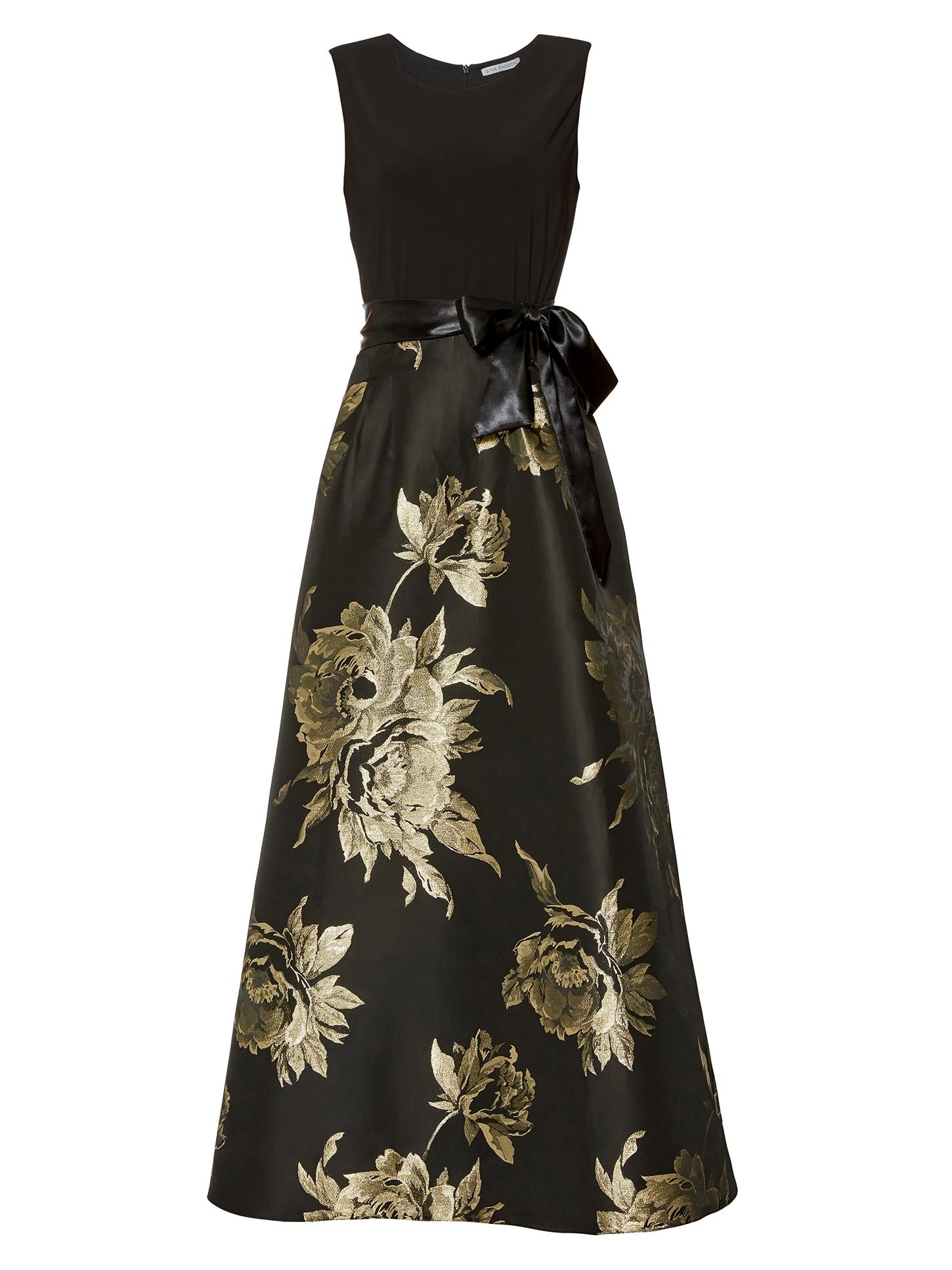 Mili Jersey And Jacquard Dress