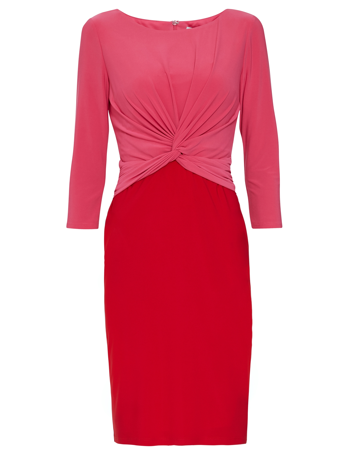 Lorissa Jersey Colour Block Dress