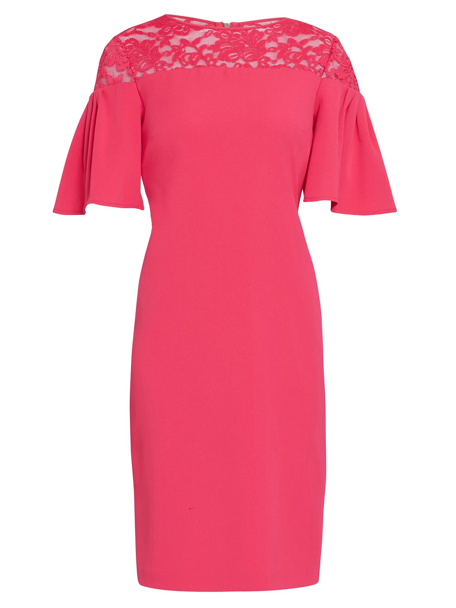 Boriana Moss Crepe Dress