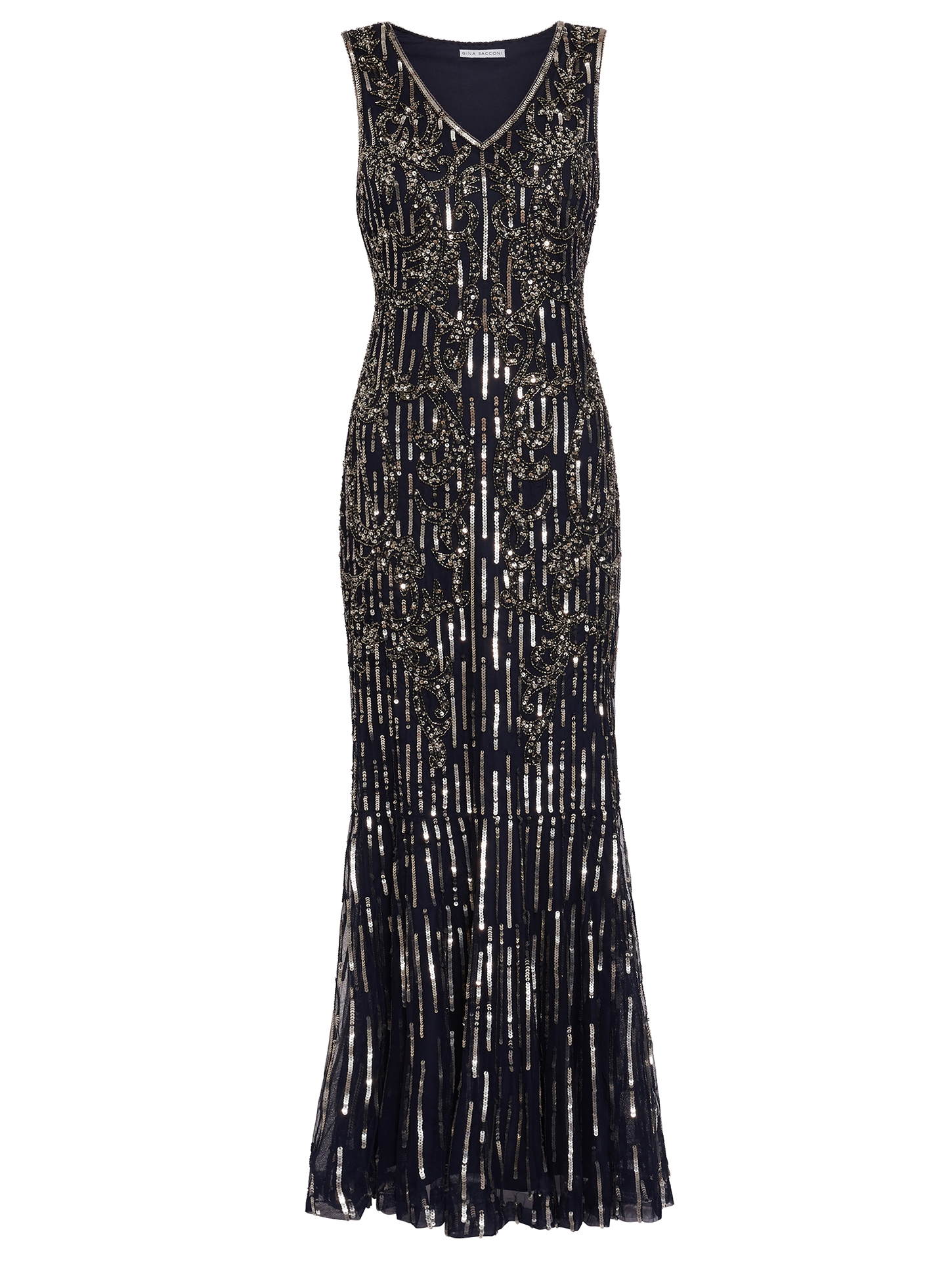 Alundra Beaded Maxi Dress