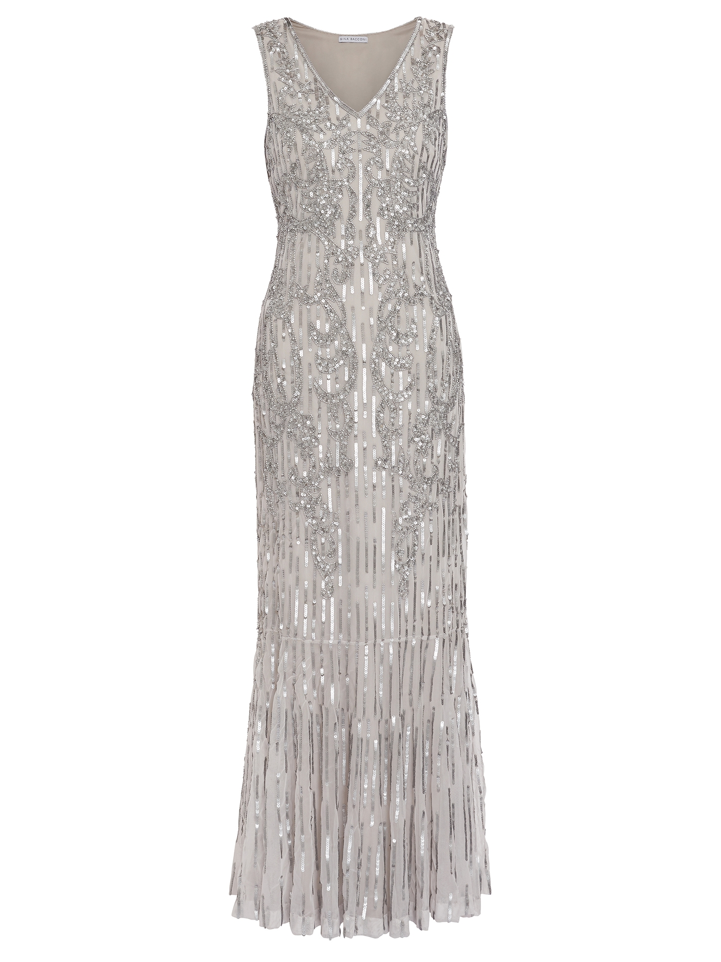 Alundra Beaded Maxi Dress