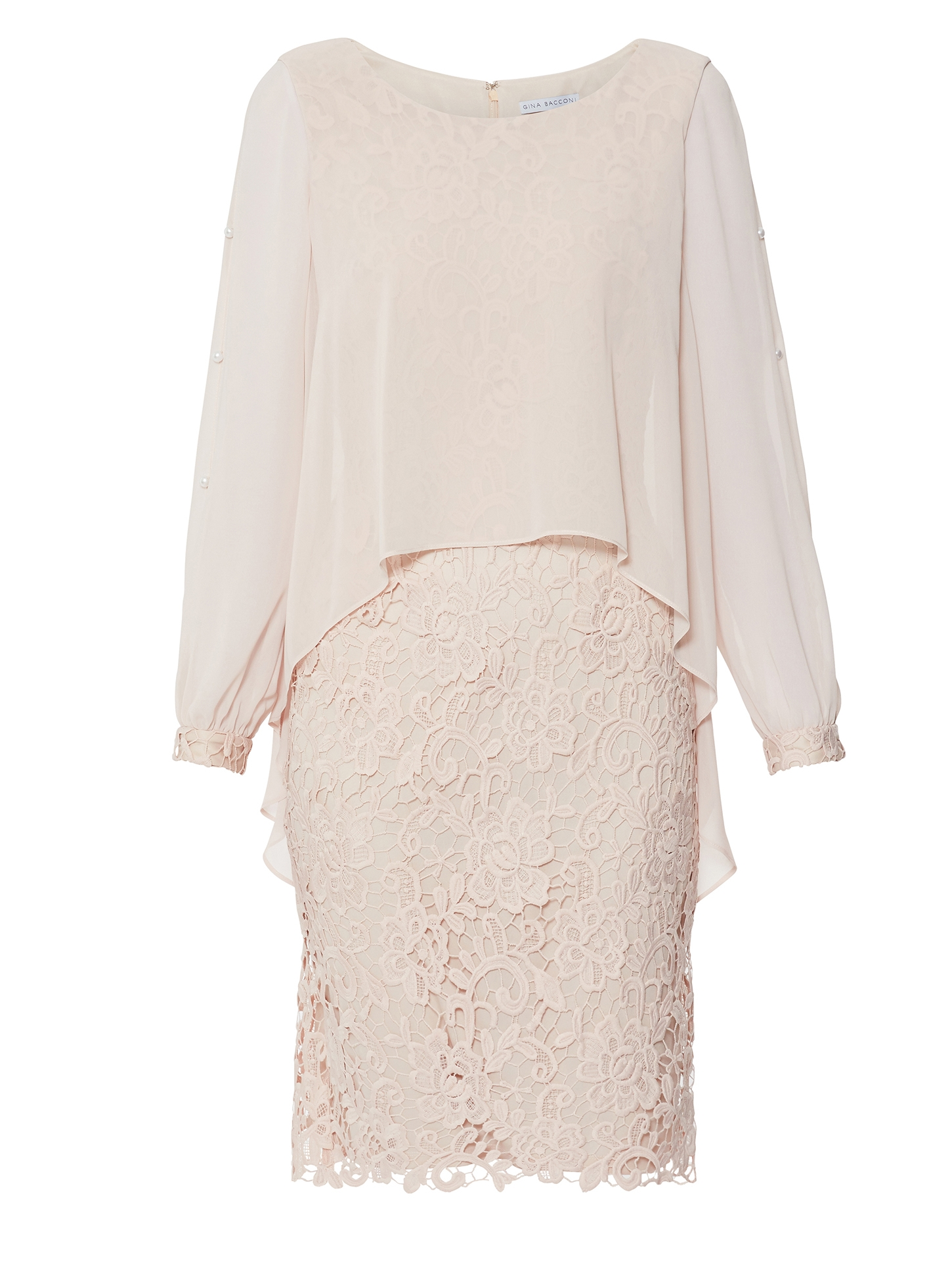 Isotta Lace Dress And Overtop