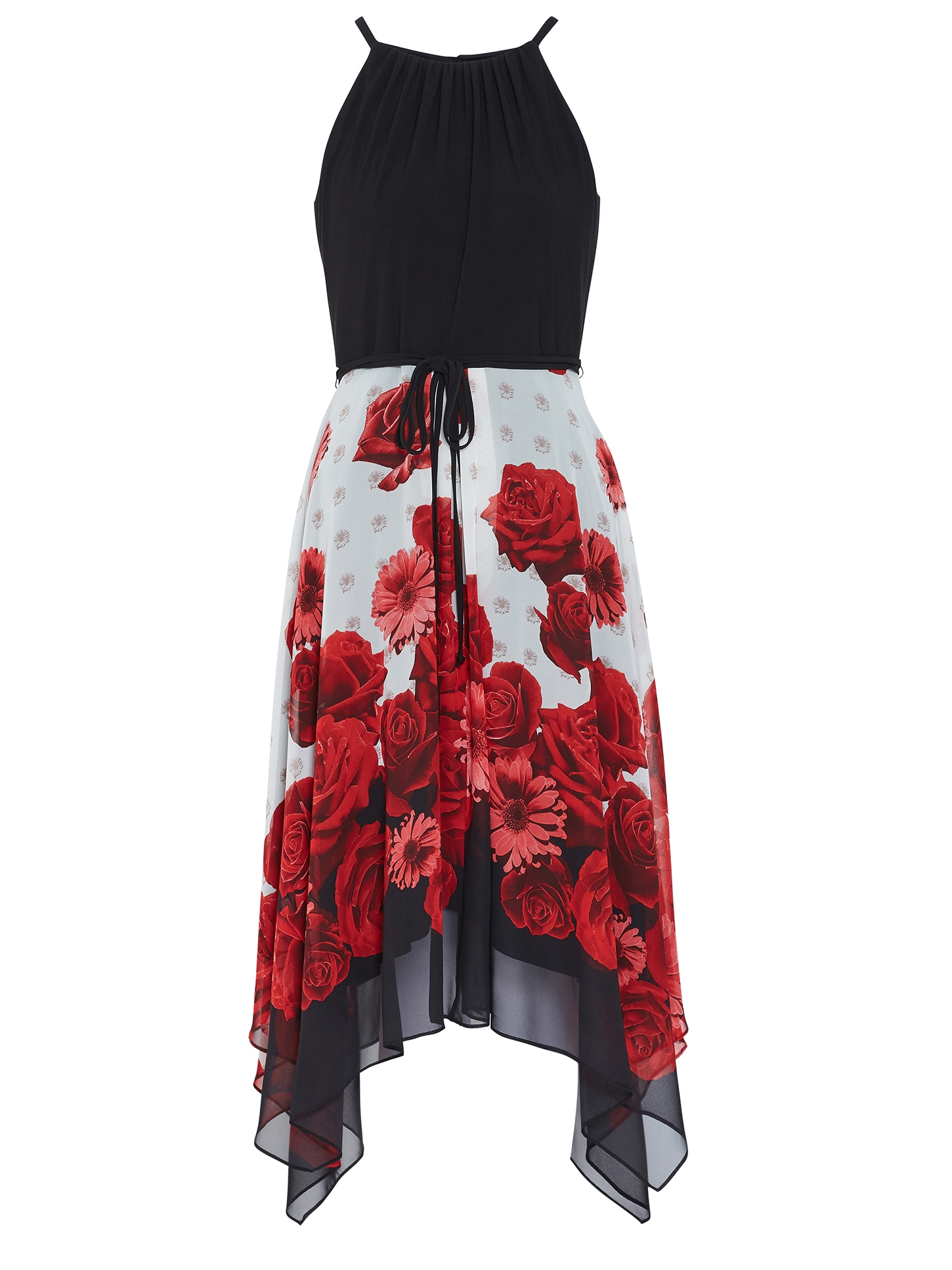 Zarita Bodice And Printed Skirt Dress
