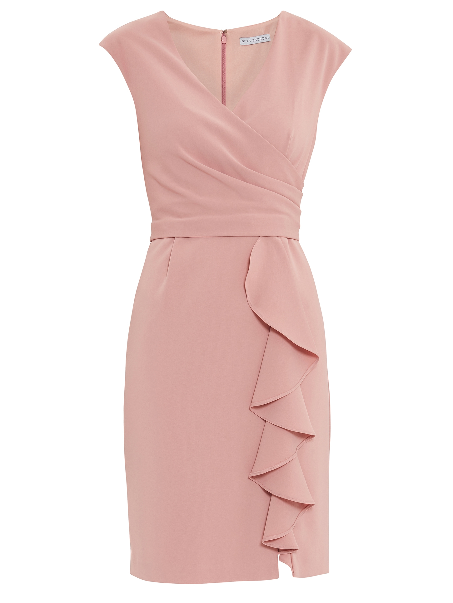 Inona Moss Crepe Dress
