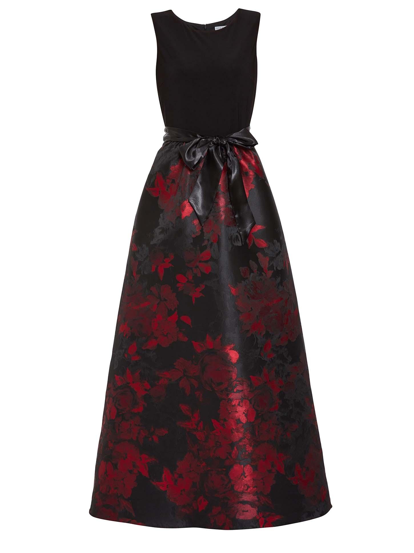 Issa Jacquard Maxi Dress
