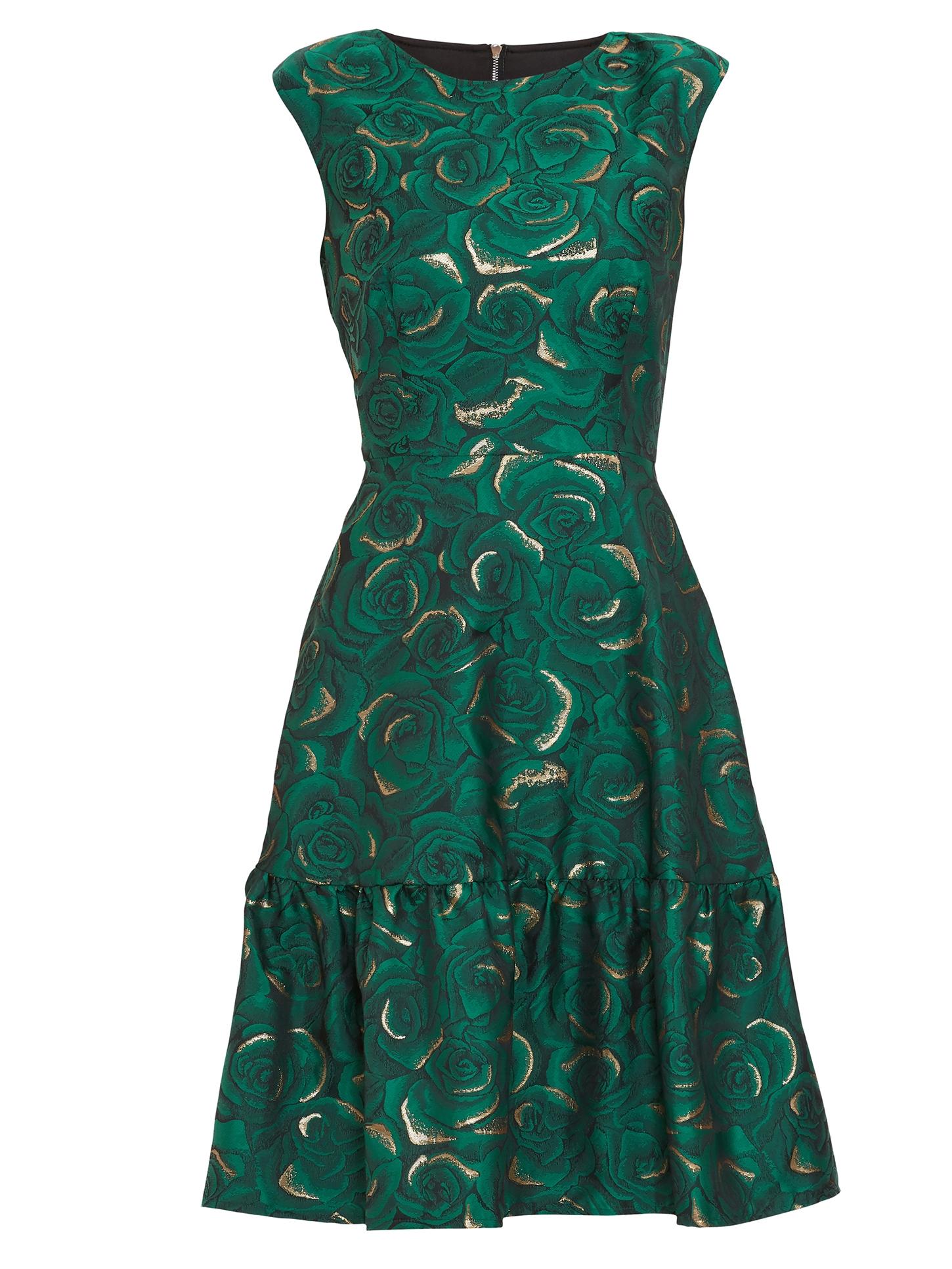 Nasra Jacquard Dress