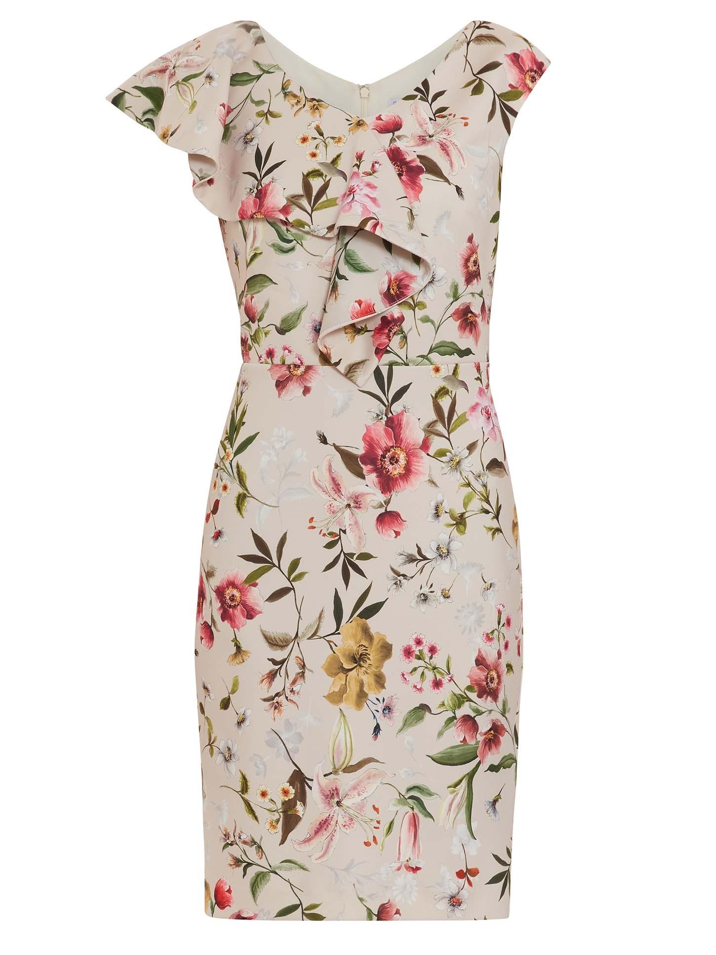 Darcella Floral Scuba Dress