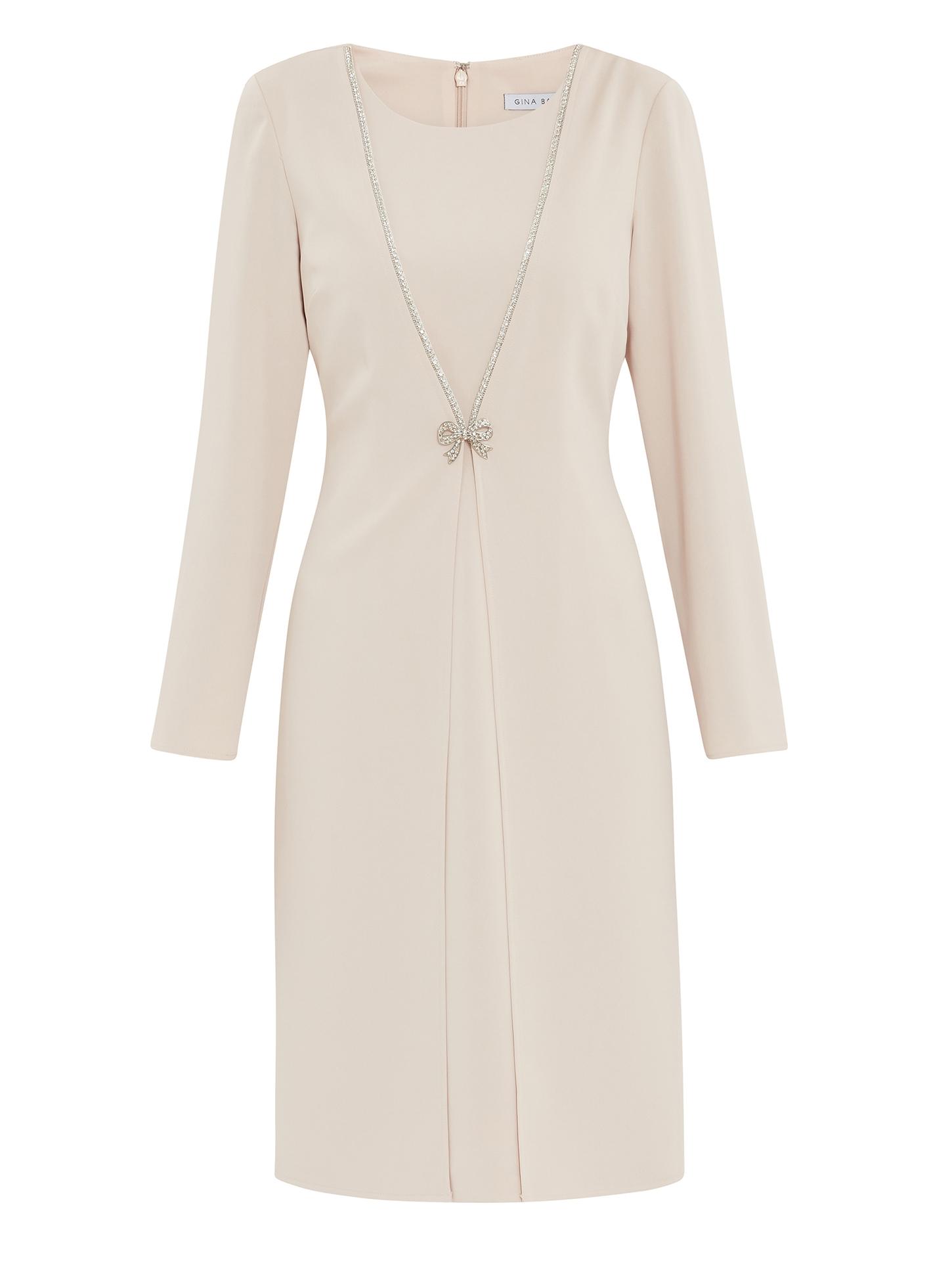 Sedona Coat Dress With Brooch