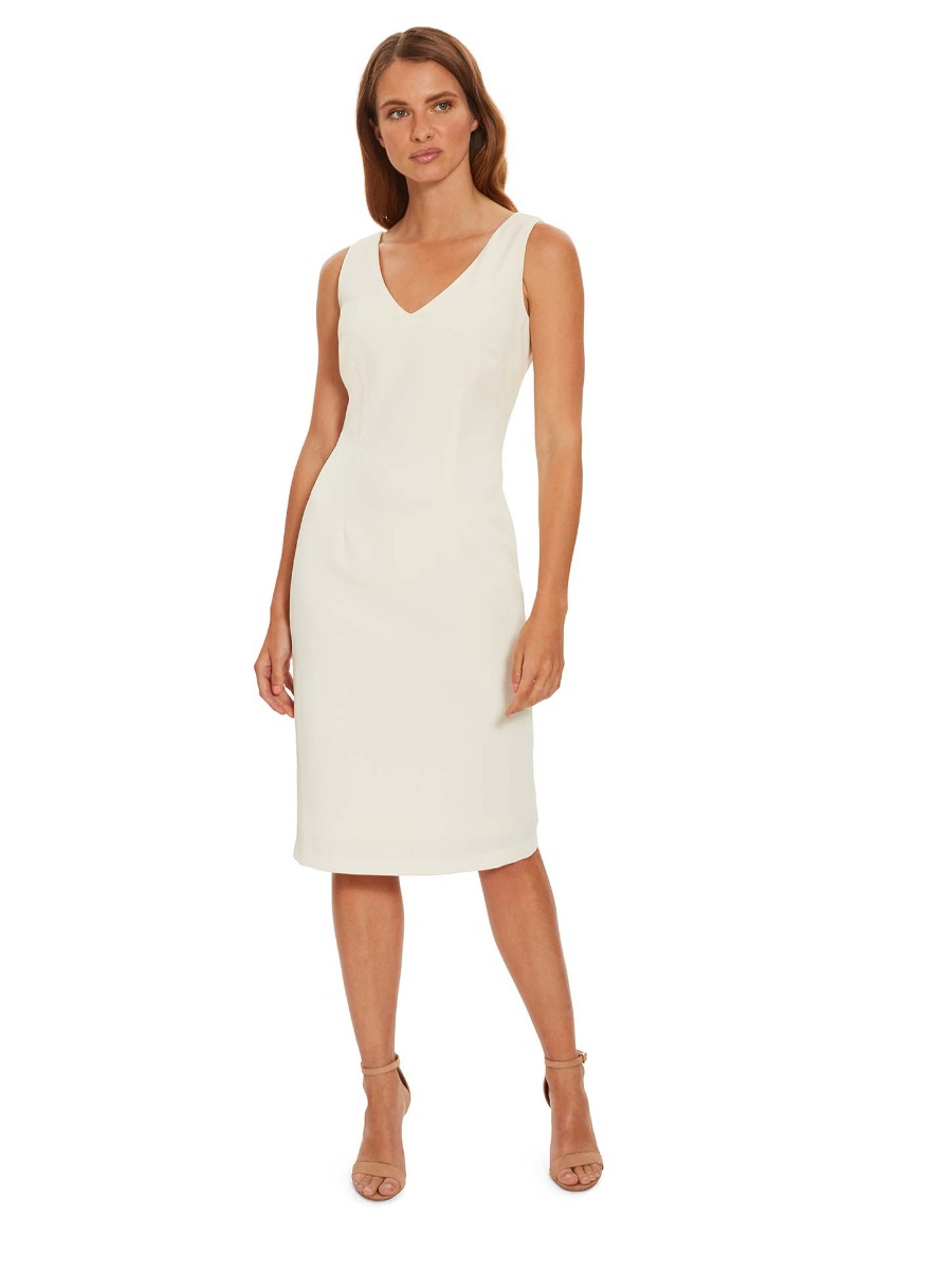 Merna Crepe Shift Dress