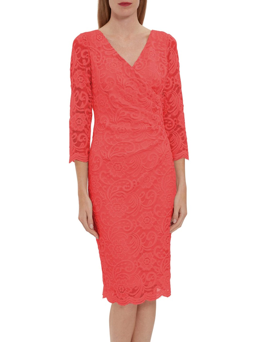 Clarinell Stretch Lace Dress