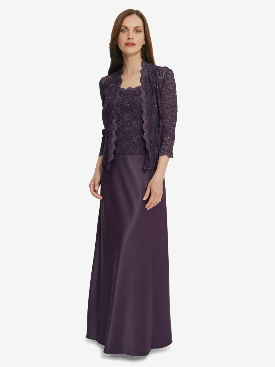 Aimee Embroidered Dress And Jacket