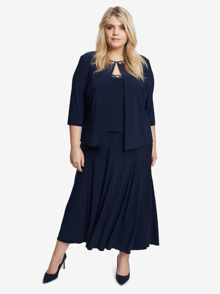 Paulette Jacket And Dress With Embellishment