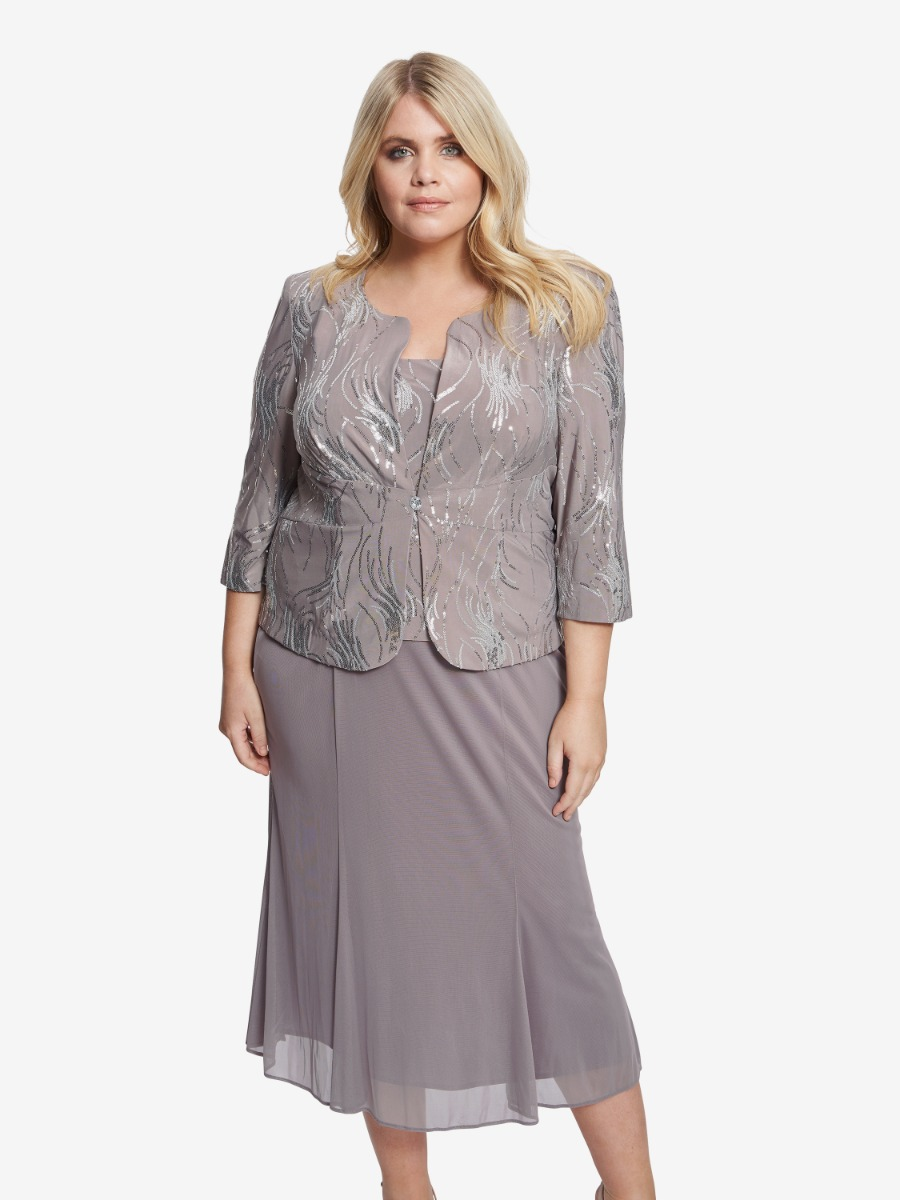 Roslynn Sequin Jacket and Dress